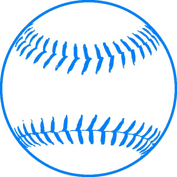 blue softball clip art at clker com vector clip art online rh clker com softball pictures clip art softball clipart free download