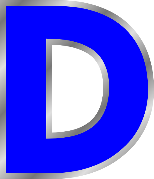D  Letter D Clip Art at C...