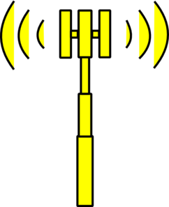 Yellow Tower Clip Art