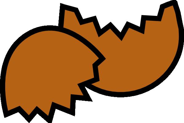 brown egg shell clip art at clker com vector clip art online rh clker com shell clip art free shell clip art free