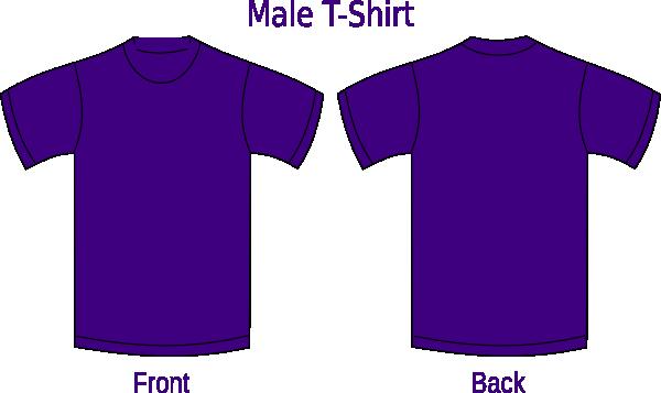 violet tshirt clip art at clkercom vector clip art