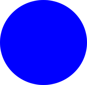 Mighty Line Solid Color BLUE Dots  |Blue Dot