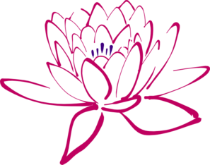 Pinkish Lotus Clip Art