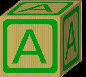 alphabet block a clip art at clker com vector clip art online rh clker com black clip art monkeys pictures brick clip art