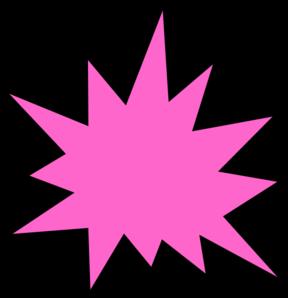 pink star burst clip art at clker com vector clip art online rh clker com starburst clip art free star burst clip art