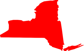 New York Map Clip Art