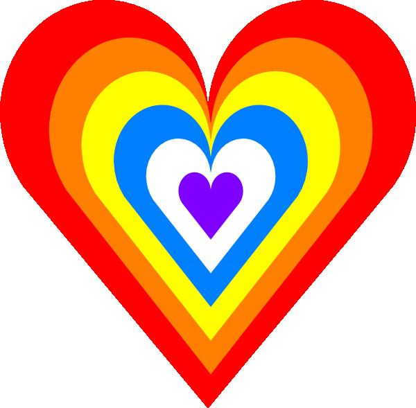 rainbow heart clip art at clker com vector clip art tie dye clip art free tie dye clip art instructions