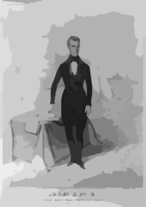 James K. Polk Clip Art