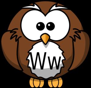 ww owl clip art at clker com vector clip art online royalty free