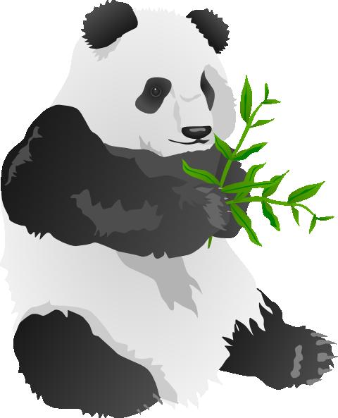 Panda Bear Clip Art at Clker.com - vector clip art online ...