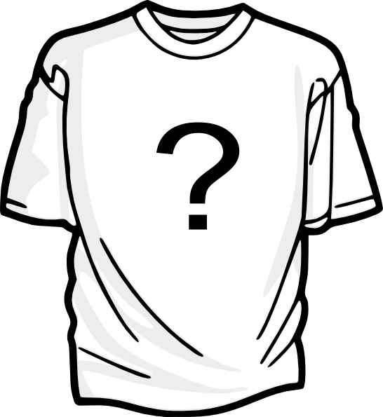 Question Mark T Shirt Clip Art At Clker Com