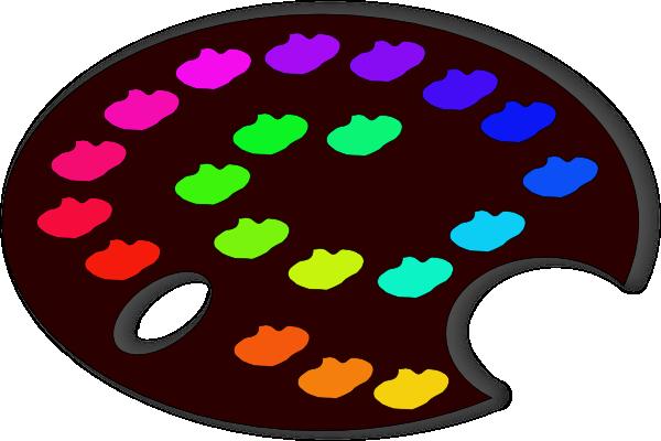 paint palette clip art - photo #16