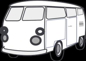 Van B&w Clip Art at Clker.com - vector clip art online, royalty free ...