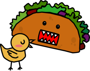 Taco Chicken Mae Clip Art