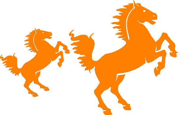 orange silhouette clip art at clkercom vector clip art