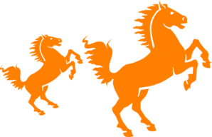 Orange Silhouette Clip Art