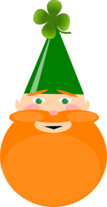 Irish Leprechaun Clip Art