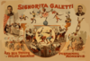 Signorita Galetti And Her Troupe Of The World S Greatest Performing Monkeys Clip Art