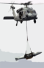 An Mh-60s Knighthawk Helicopter From The Clip Art