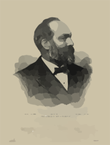 James A. Garfield Clip Art