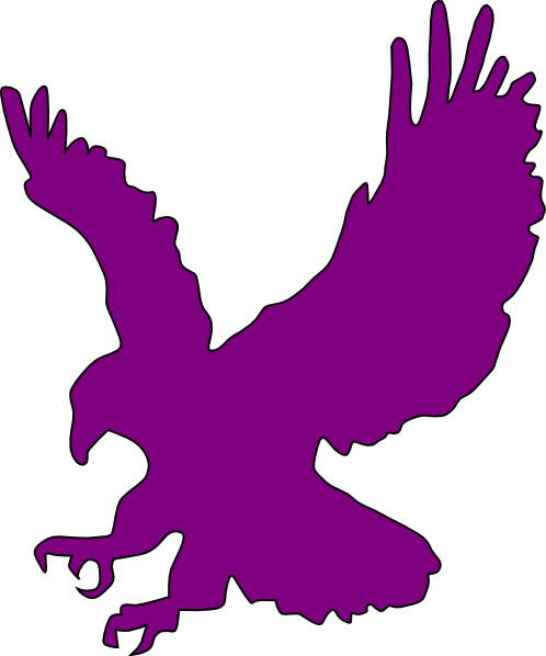 purple flying eagle clip art at clker com vector clip art online rh clker com flying eagle clipart free flying eagle clipart