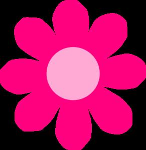 pink daisy flower clip art at clker com vector clip art online rh clker com daisy flower clip art picture daisy flower border clip art free