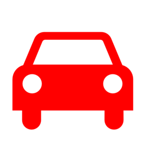 Red Car Silhouette Clip Art
