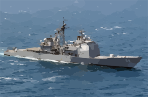 The Guided Missile Cruiser Uss Princeton (cg 59) Is Currently Deployed Conducting Combat Missions Clip Art