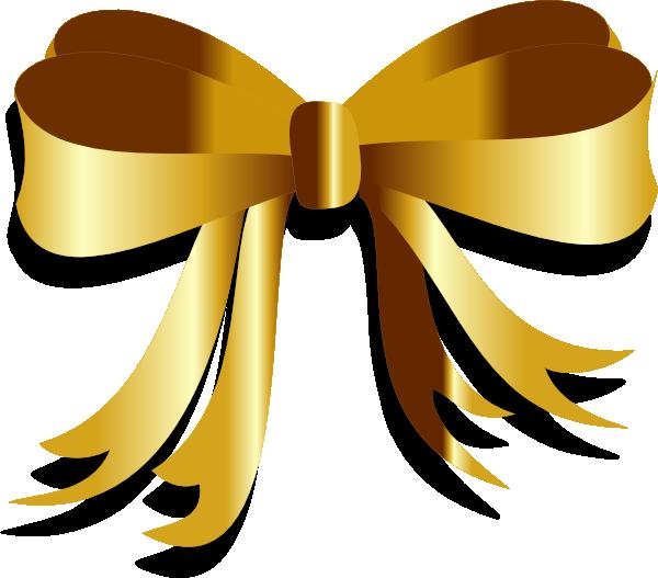 gold ribbon clip art at clker com vector clip art online royalty