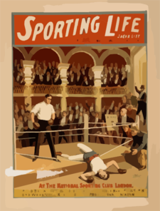 Sporting Life Written By Cecil Raleigh & Seymour Hicks. Clip Art