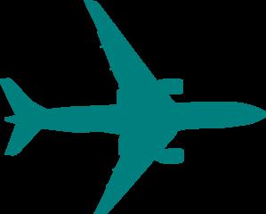 teal plane clip art at clker com vector clip art online royalty rh clker com clip art planner clip art planner