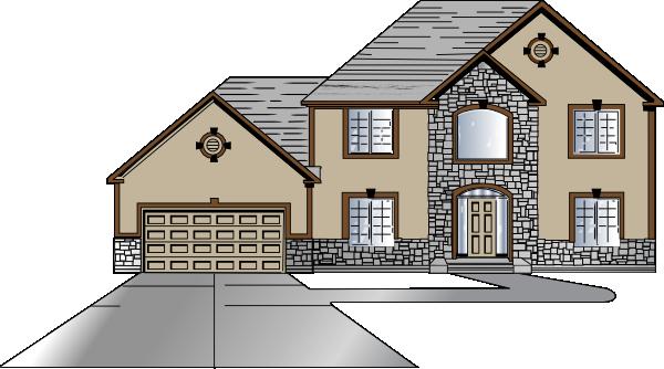 Family Home Clip Art at Clker.com - vector clip art online ...