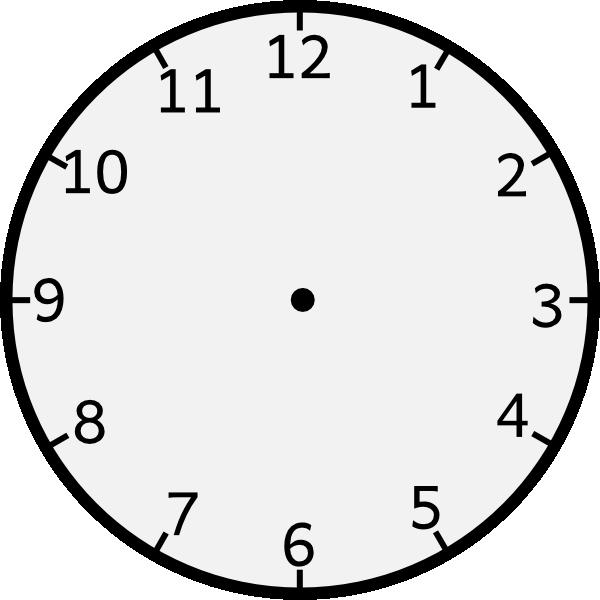 clock clip art free no hands - photo #2