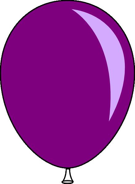 Purple Baloon Clip Art at Clker.com - vector clip art ...