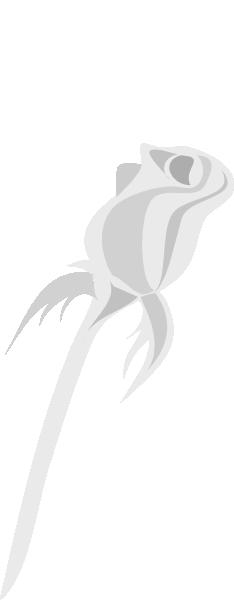 Lighter Silver Plated Long Stem Rose Clip Art at Clker.com ...