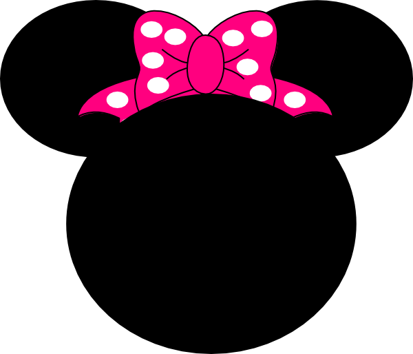 Pink Mouse Bow Clip Art at Clker.com - vector clip art online, royalty ...