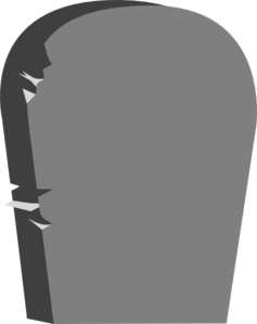 headstone clip art at clker com vector clip art online royalty rh clker com tombstone clipart free clipart tombstones graves