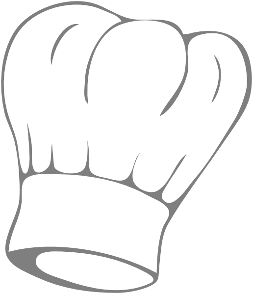 coloring pages of chef hats - photo #6