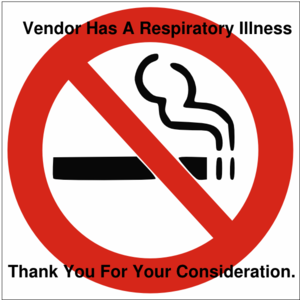 No Smoking Respiratory Illness Clip Art