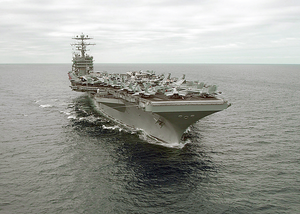 Uss George Washington (cvn 73) At Sea. Image