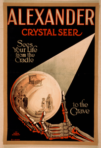 Alexander, Crystal Seer Sees Our Life From The Cradle To The Grave. Image