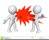 Workplace Violence Clipart Image
