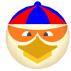 Super Chicken Face Image