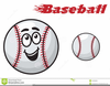 Free Black And White Baseball Clipart Image