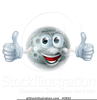 Man In The Moon Clipart Image