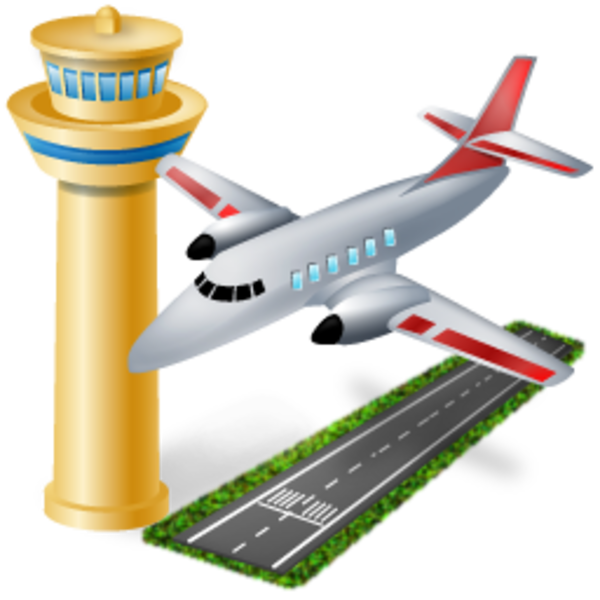 airport free images at clkercom vector clip art