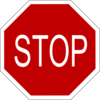 Stop Sign Clip Art Hight Image