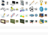 Desktop Education Icons Image
