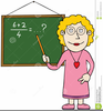 Teacher Teaching Clipart Image