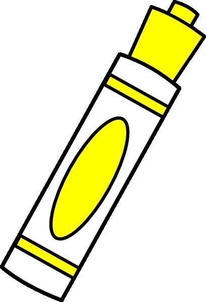 marker yellow clip art at clker com vector clip art online rh clker com marker clip art black and white expo marker clip art